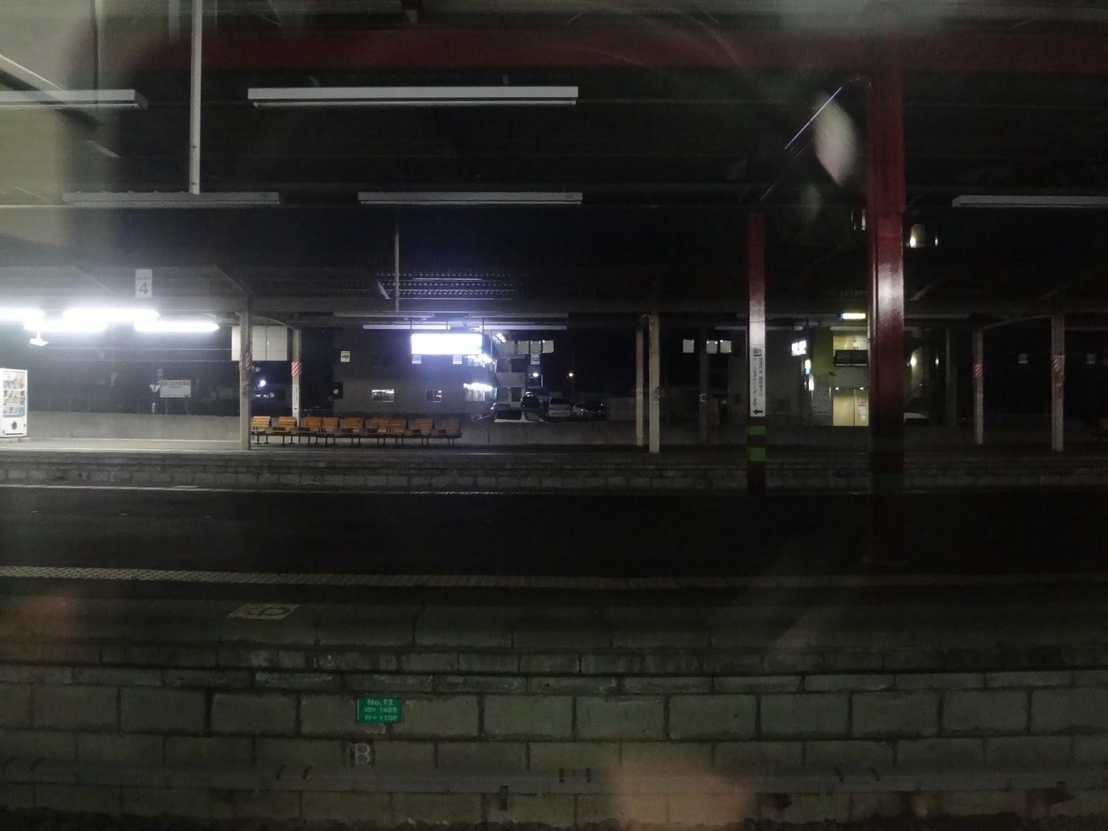 4:11 塩尻駅到着