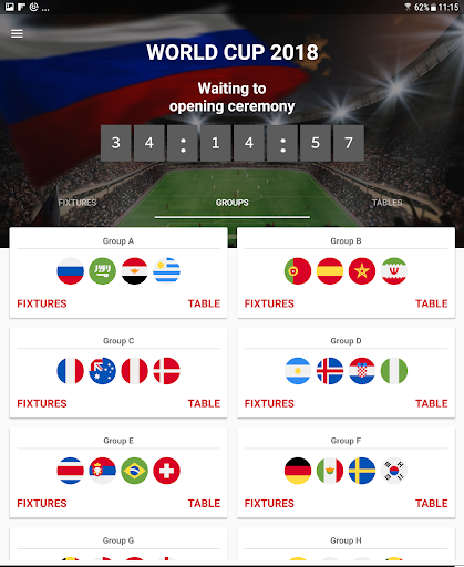 World Cup 2018 Live Scores & Fixtures 2.0.1 screenshots 11