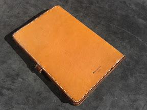 кожаная папка ручной работы № 150 Ara