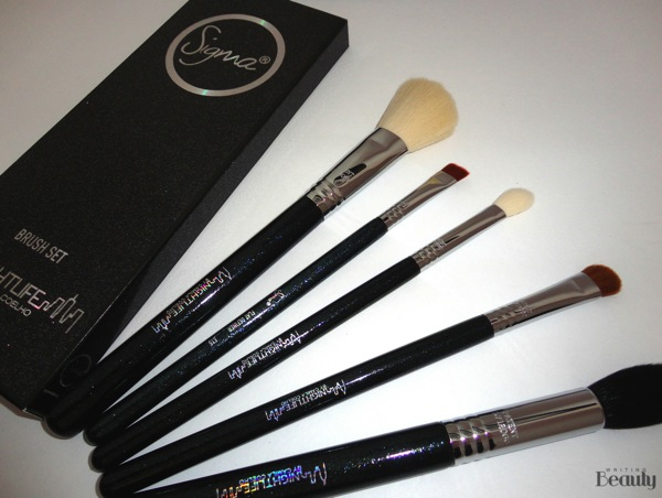 Sigma Beauty Night Life by Camila Coelho Brush Set Review 3