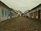 Streets of Paraty in the morning