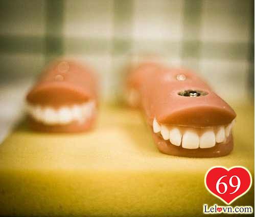 Cho tới việc có một hàm răng như thế nào…
