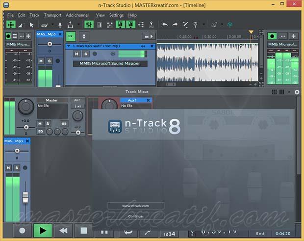 n-Track Studio 8 EX Full Crack | MASTERkreatif