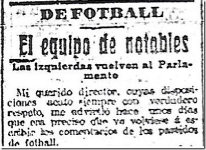 El Liberal 2 Noviembre 1918