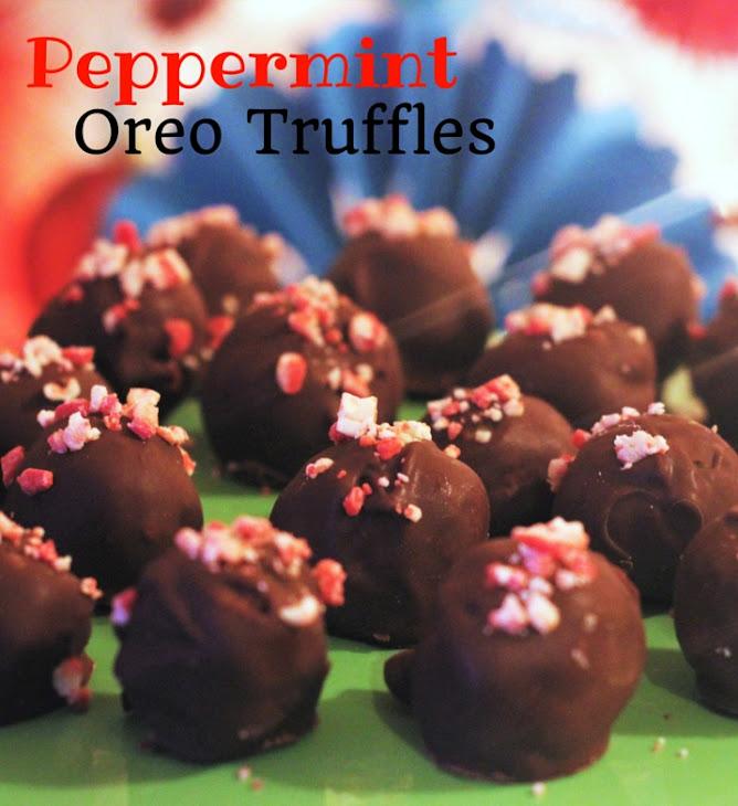 Peppermint Oreo Truffles. Recipe | Yummly