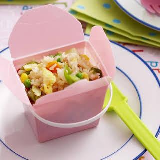 Egg Fried Rice for Kids.