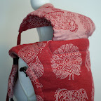 Didymos Crimson India Reversible Wrapconversion SSC by MamaMerel