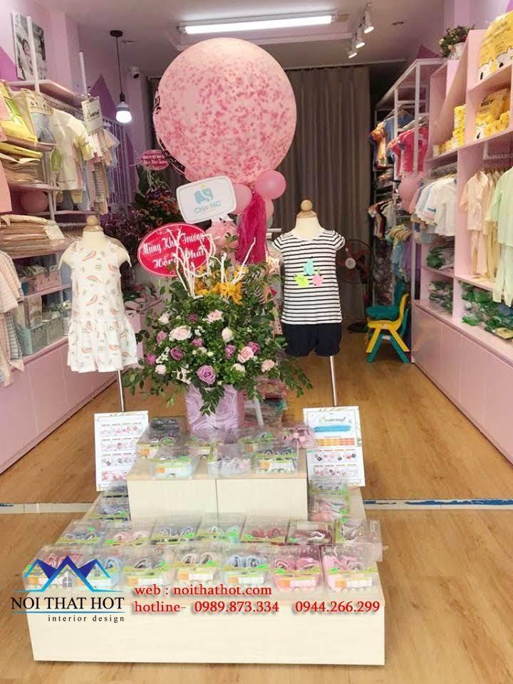 thiết kế cửa hàng trẻ em shop me ken 6