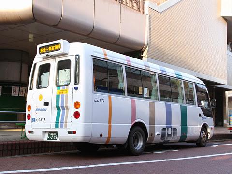 西日本鉄道 高宮循環バス 0376 リア