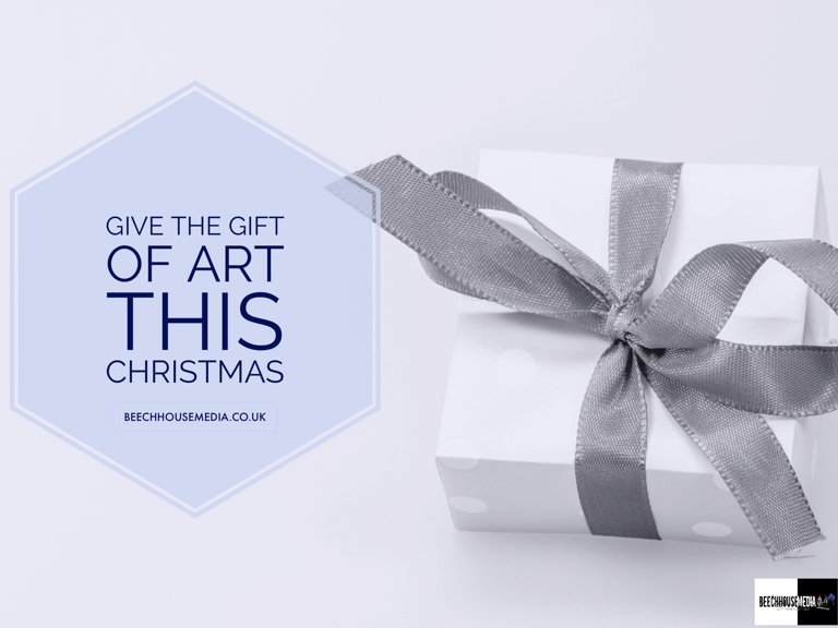 give the gift of art this Christmas