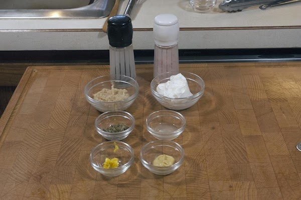 Gather your ingredients (mise en place).