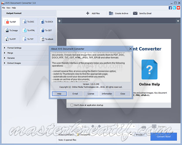 AVS Document Converter 3.0