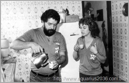 Lula e esposa Marisa Letícia