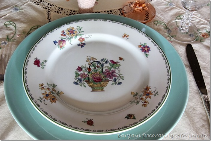 Syracuse China, Roslyn Dinner Plate-Bargain Decorating with Laurie