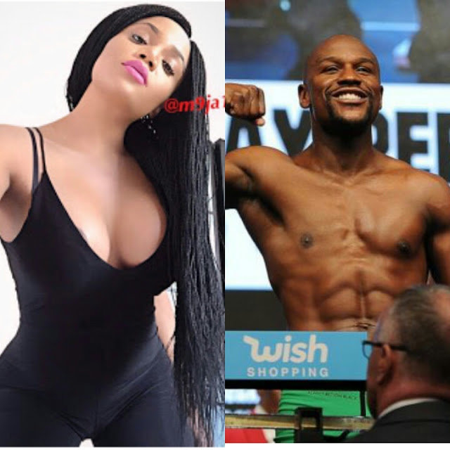 """Let's Do The Main Match In Bed"" – Maheeda Dares Floyd Mayweather"