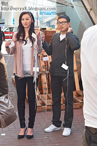 去年台慶失落「男配角」獎的陳國邦有份客串,最近他密密北上登台,為囡囡搵奶粉錢