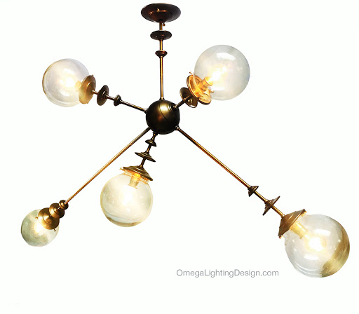 The Ray Gun Sputnik By Omega Lighting Design Berkeley Ca