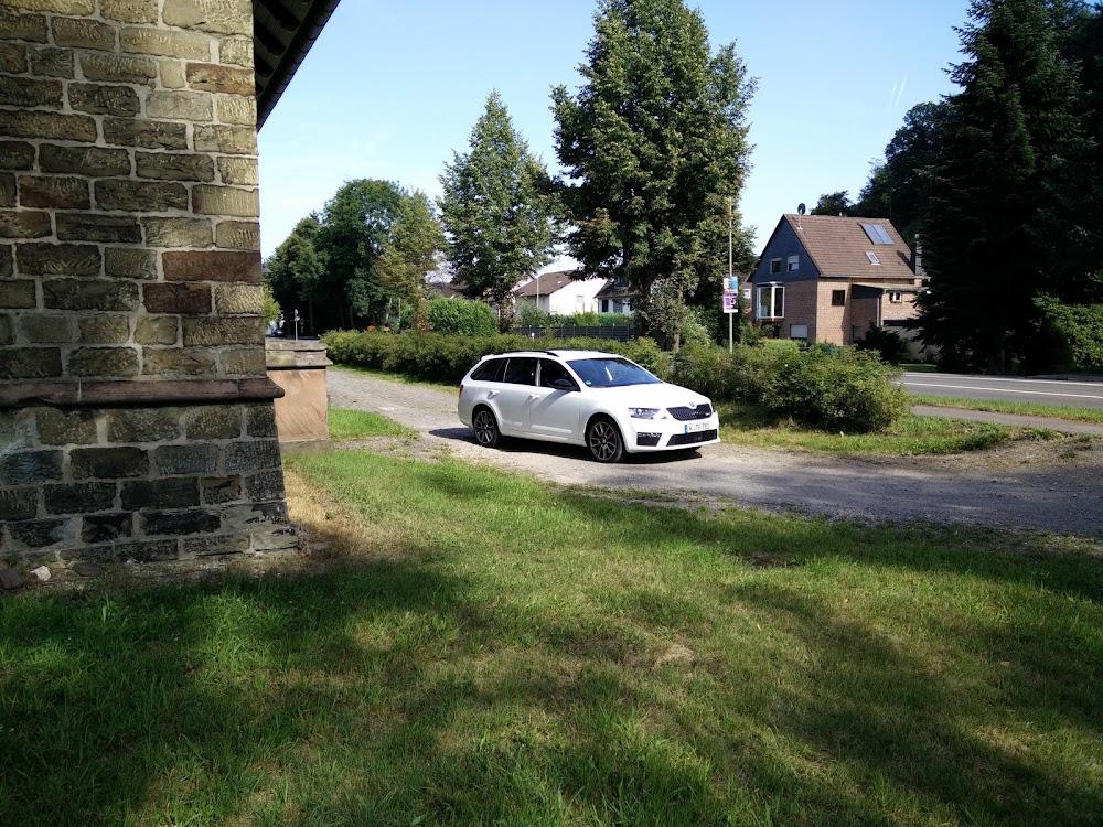 Skoda Octavia RS Combi in Laser-Weiß