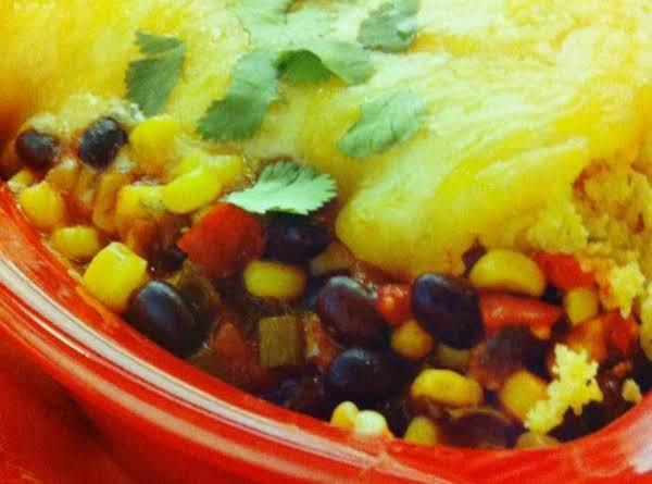 Crock-pot Enchilada Casserole