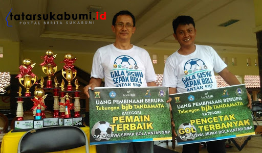 Turnamen Sepak Bola Gala Siswa Indonesia Tingkat SMP Kabupaten Sukabumi