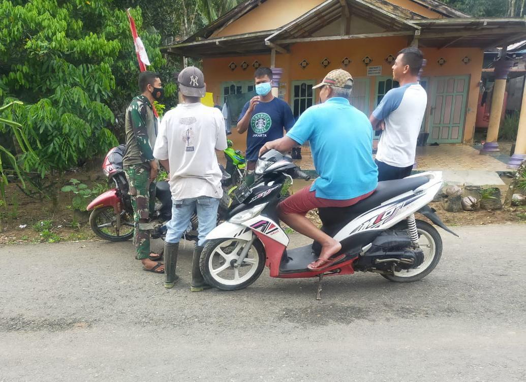 Kesedihan Terlihat Warga Desa Lok Batu Jelang Berakhirnya TMMD
