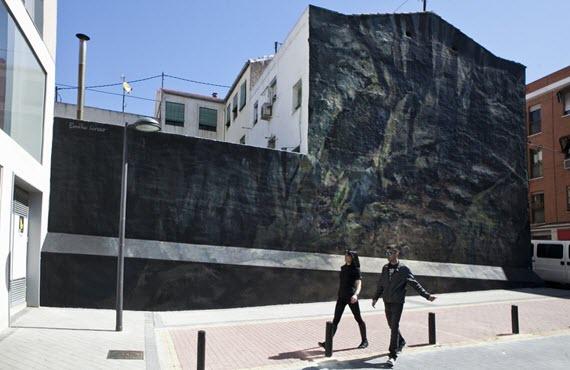 Pinturas murales por toda la ciudad