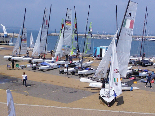 Camping  at Weymouth & Portland National Sailing Academy