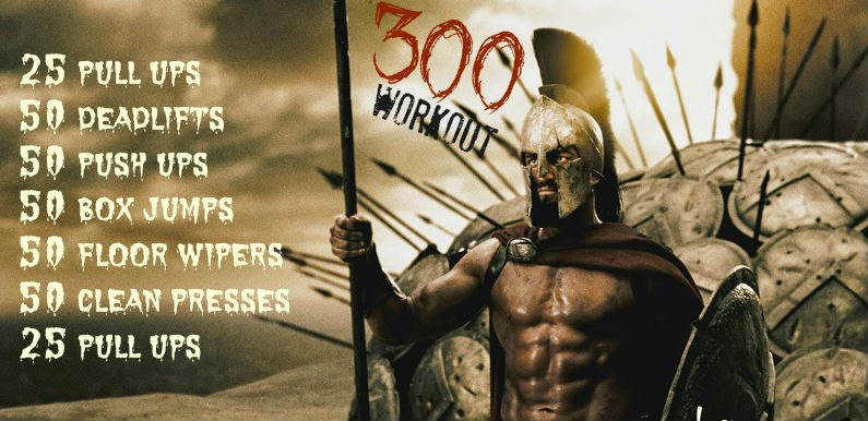 Spartan 300 Workout Wod 02 16 15 Crossfit Proper