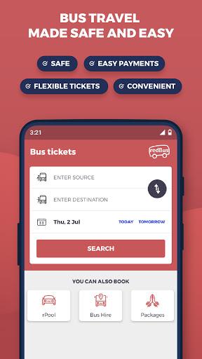 redBus - World's #1 Online Bus Ticket Booking App 13.0.1 screenshots 1