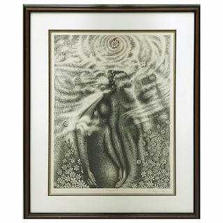 John Thomas Biggers Signed Lithograph