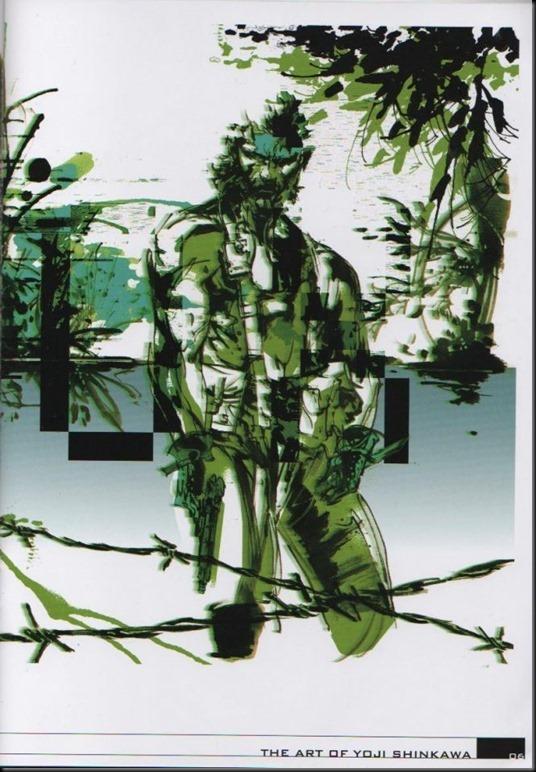 The Art of Yoji Shinkawa 1 - Metal Gear Solid, Metal Gear Solid 3, Metal Gear Solid 4, Peace Walker_802479-0010
