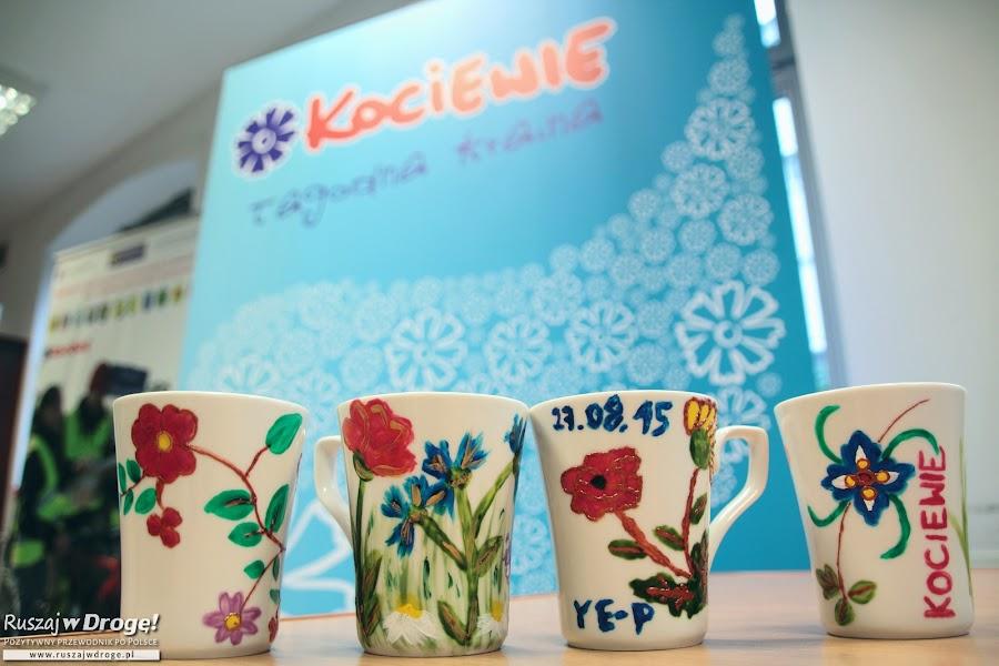 Wzory Kociewskie na porcelanie