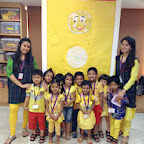 Yellow Day Celebrated in Jr.Kg (2014-15) at Witty World