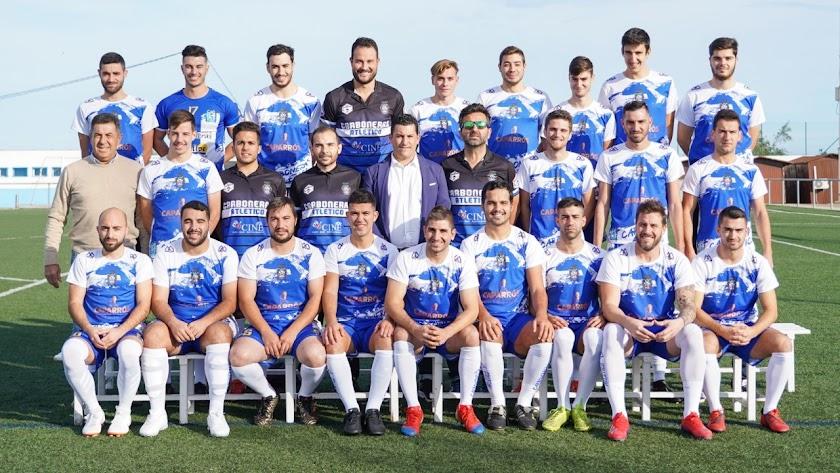 Los jugadores del Carboneras han comenzado bien la temporada.