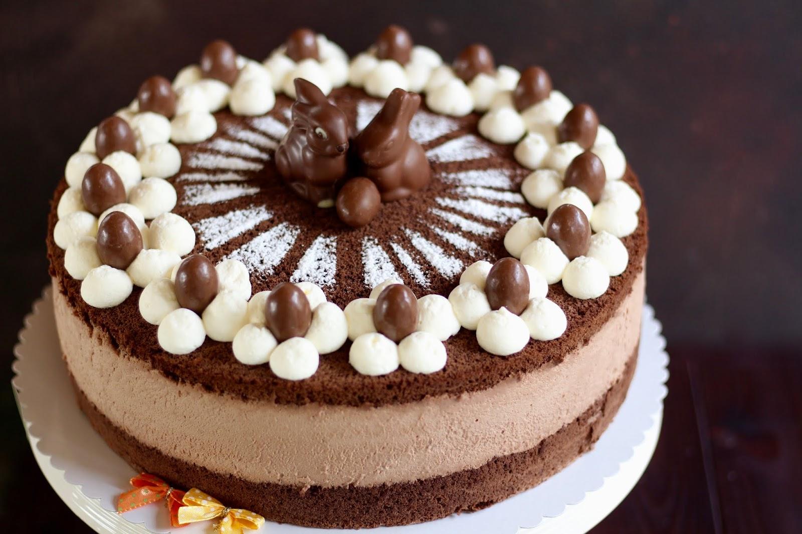 Die beste Schoko-Käse-Sahne-Torte backen! Traumhafte Ostertorte mit viel Schokolade zum 18. Geburtstag! | Rezept und Video von Sugarprinces