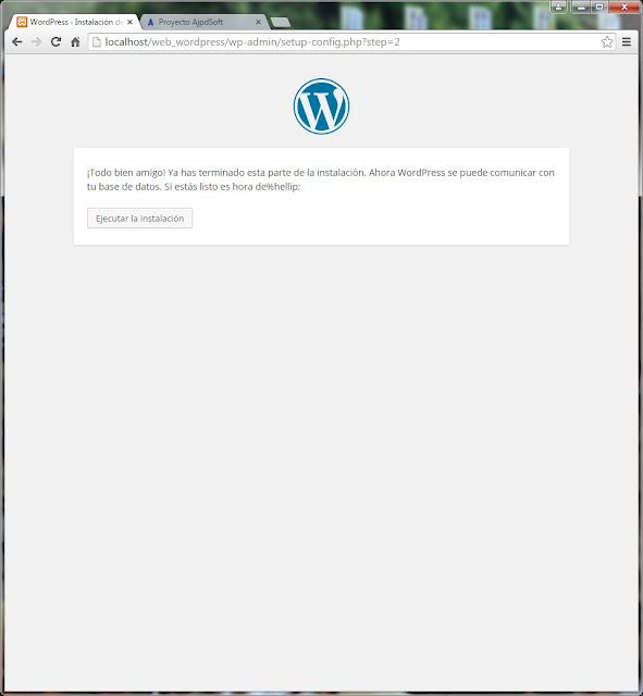 Descarga e instalación del CMS WordPress 4.1.1