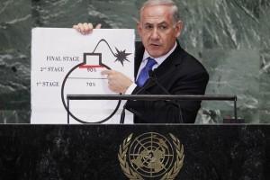 Netanyahu: Iran Bomb Red Line