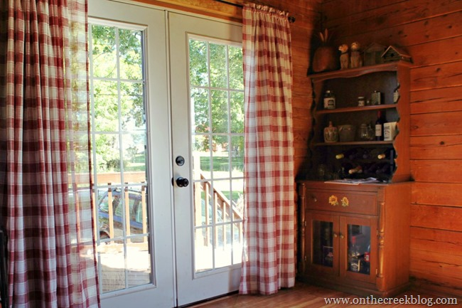 Country Plaid Curtains