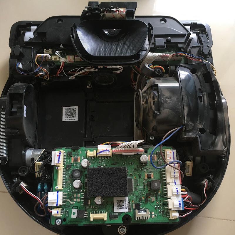 (Labs) Mổ xẻ Samsung vacumm Powerbot R7040