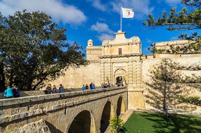 Geocaching auf Malta - Mdina Stadttor