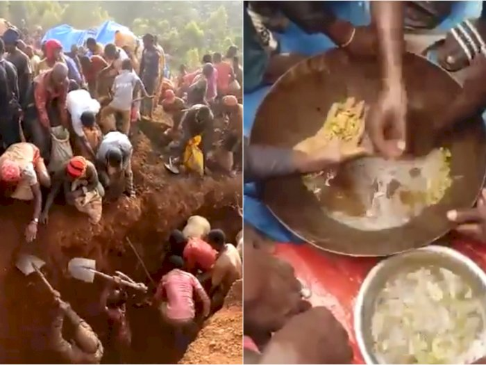 Warga Kongo Temukan 'Gunung Emas', Setelah Ditambang Emasnya Malah Diambil Polisi