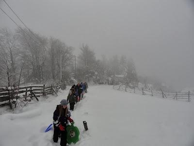 Snijeg...magla...kišica...To su vam za Gojzeke idealni uvjeti..