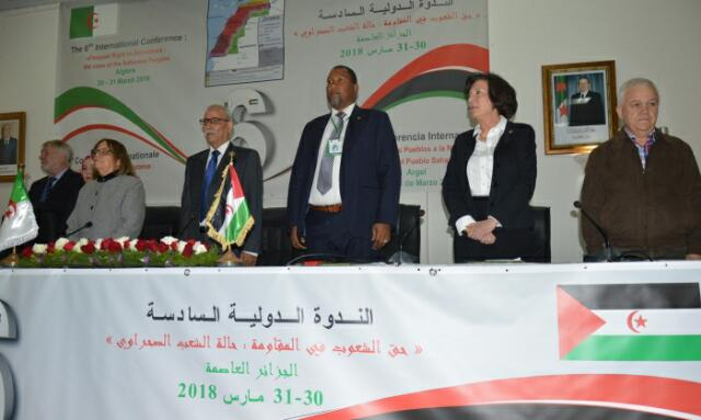المشاركون في الندوة الدولية للمقاومة يؤكدون على عدالة كفاح الشعب الصحراوي التحرري من أجل الاستقلال