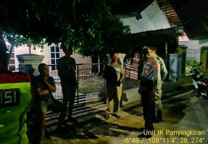 Polsek Panyingkiran Ops Yustisi Pendisiplinan Prokes Turun Langsung ke Desa