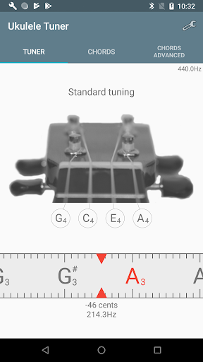 Ukulele Tuner 1.2.7 screenshots 1