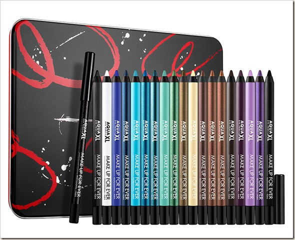 Artistic Aqua XL Eye Pencil Collection da MUFE