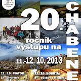 Výstup na CHABENEC 2013