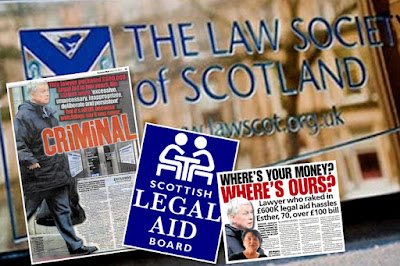A Diary of Justice & Injustice - Scotland: CASH TRAPPED: £1 2m legal