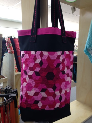Finally Wefty Woven Bag by Jen Mulder for Project QUILTING