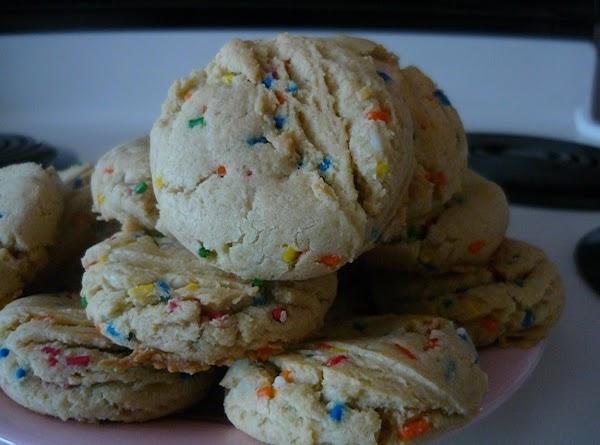 Birthday Cake Cookies Recipe